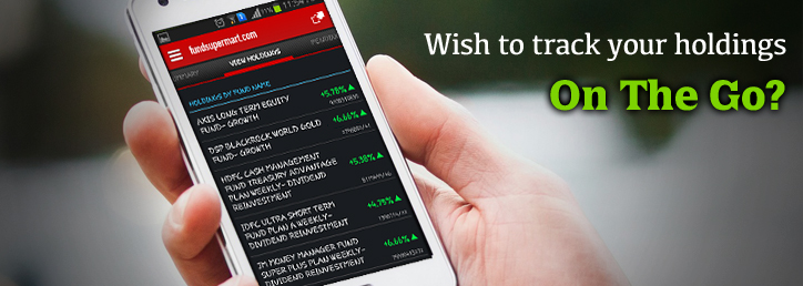 Track your holdings on the go