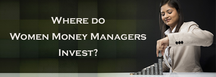Where do women money managers invest