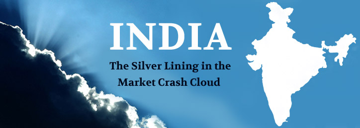 India- The silver lining in the market crash cloud