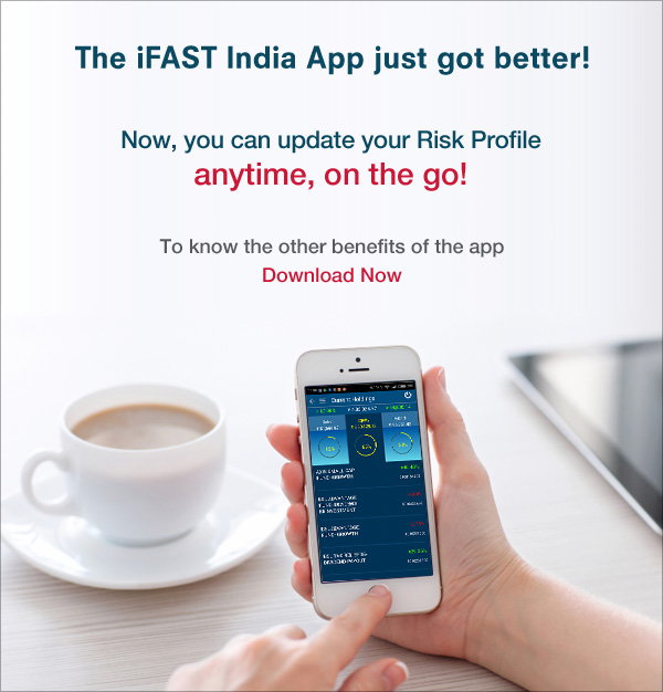New feature in iFAST App - Update Risk Profile
