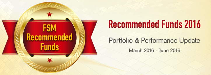 Recommended Funds 2016 - Portfolio & Performance Update