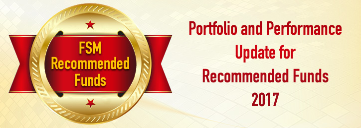 Portfolio and Performance Update for Recommended Funds 2017