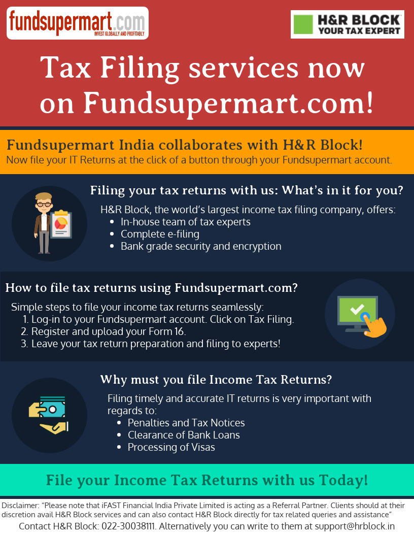 Simplify Tax FIling with Fundsupermart!