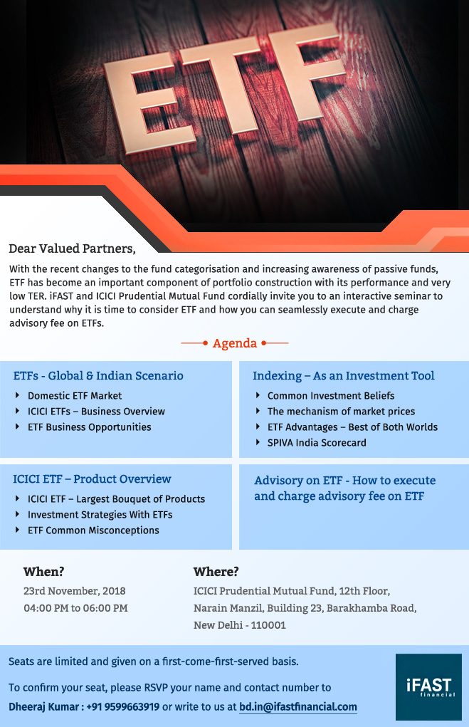 An intercative session on ETF