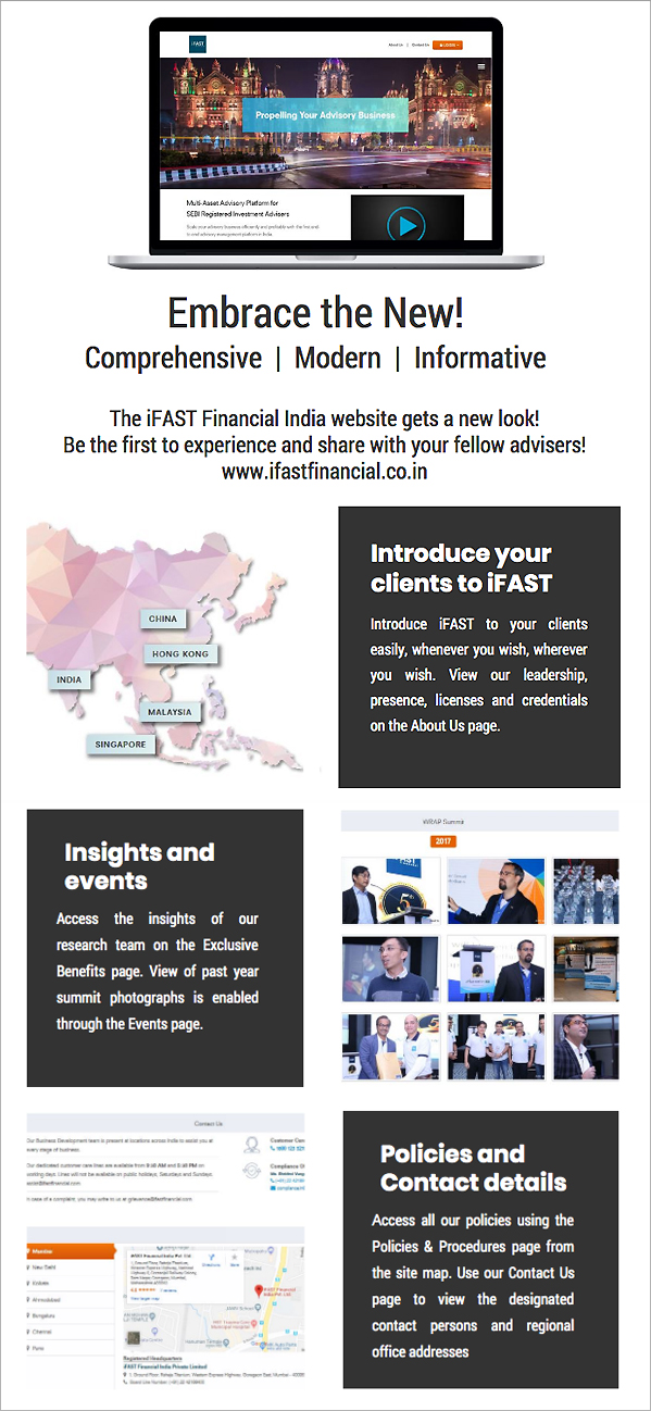 iFAST Financial India launches its new website