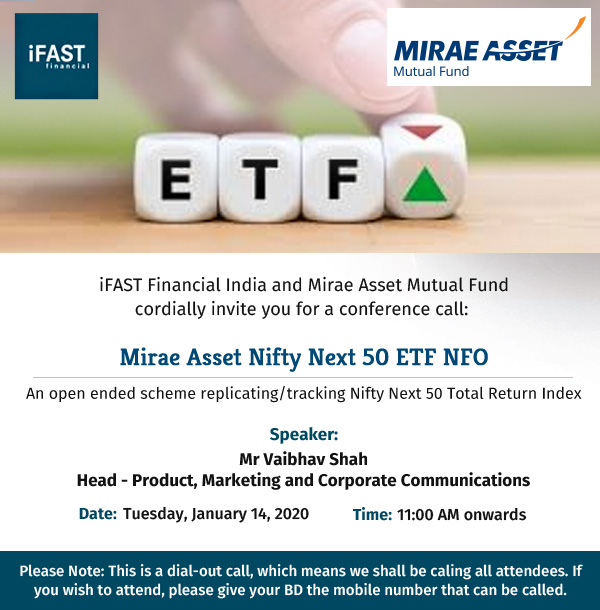Conference Call - Mirae Asset Nifty Next 50 ETF NFO
